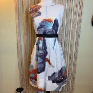 Anthropologie | Leifsdottir Watercolor  Dress 12